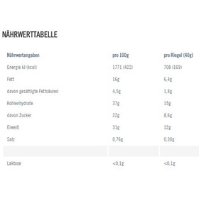 PowerBar Natural Protein Bar Box 24x40g, Blueberry Nuts (Vegan)